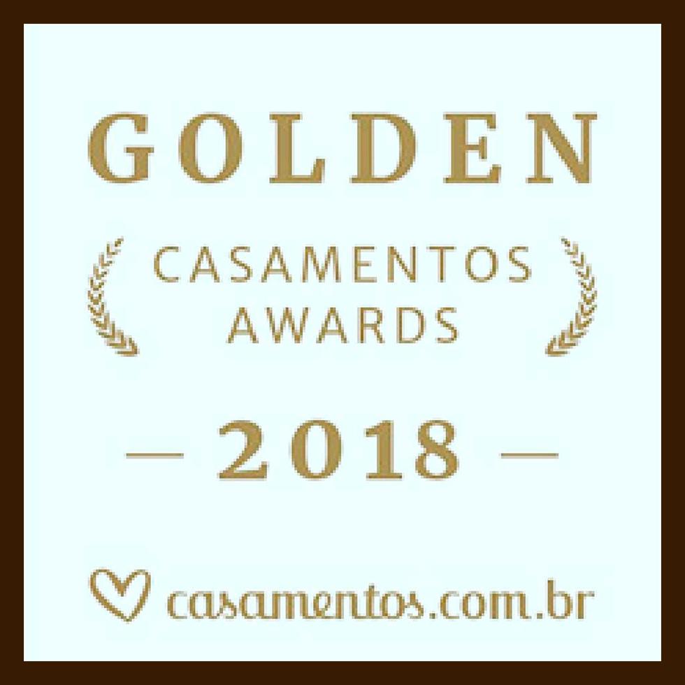 Prêmio Golden Casamentos Awards 2018