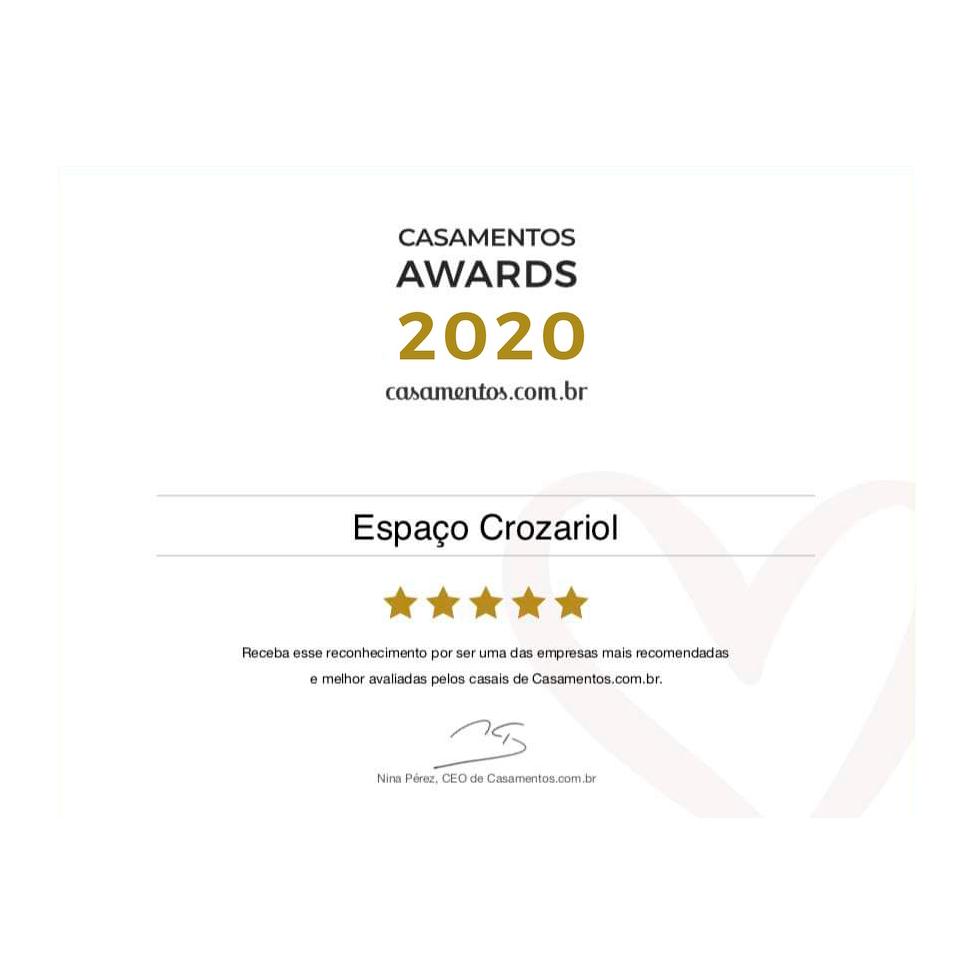 Prêmio Casamentos Awards 2020